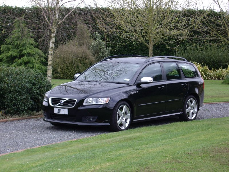Volvo Adventures, Volvo V50 2.4i R-design, Jim Hekker