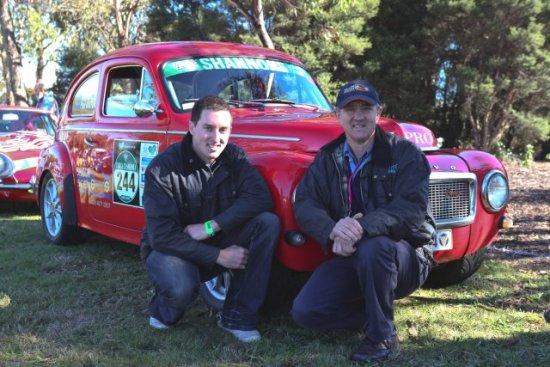 Volvo Adventures Mike And Paul Batten Pv544 Targa
